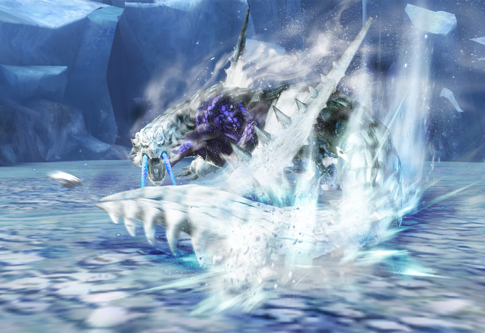 Frozen Barioth Monster Hunter Wiki Fandom