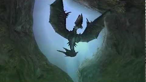 Monster Hunter Freedom Unite - Roar of the Wolf (Yian Garuga intro)