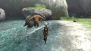 MHP3-Arzuros Screenshot 003