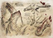 MH3U-Savage Deviljho Concept Art 002