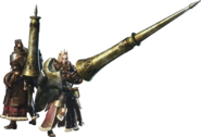 MHW-Lance Equipment Render 001