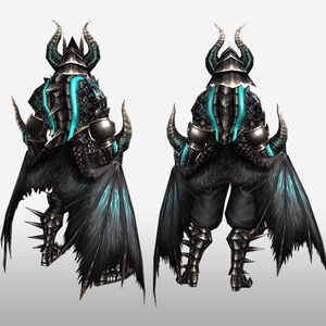 FrontierGen-Dragon G Armor (Gunner) (Back) Render