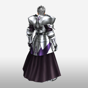 FrontierGen-Hero King Armor 002 (Male) (Both) (Back) Render