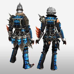 FrontierGen-Anaki Armor (Both) (Back) Render