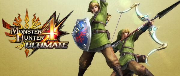 MH4U-The Legend of Zelda x MH4U 001