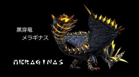 MHF 黒穿竜 メラギナス モーション集