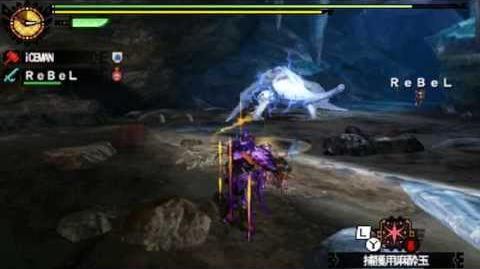 Monster Hunter 4 Nubcakes 16 - Khezu English commentary online gameplay