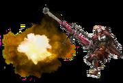 MH3U-Heavy Bowgun Equipment Render 001