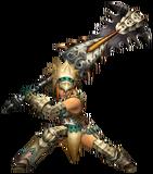 MHP3-Great Sword Equipment Render 001