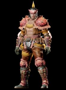 MHO-Congalala Armor (Blademaster) (Male) Render 001