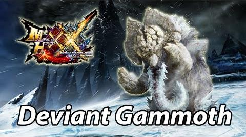 MHXX G1 First encounter with Silver Ridge Gammoth Gamuto