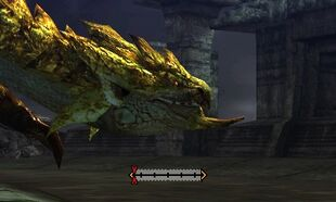MH4U-Gold Rathian Head Break 001