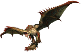 MHO-Conflagration Rathian Render 001