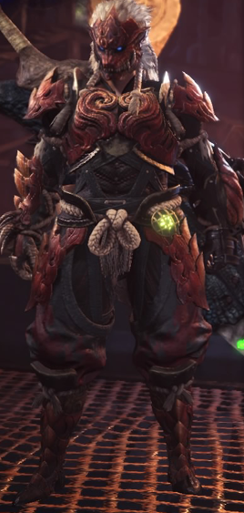 monster hunter world odogaron set