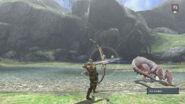 MH3U Great Jaggi vs hunter 2