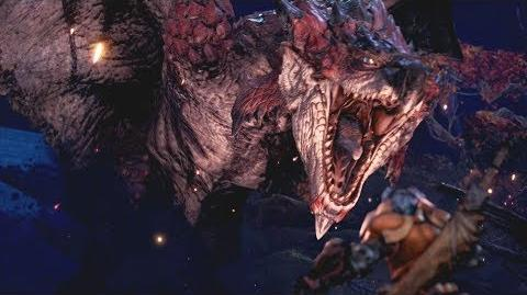 Monster Hunter World Rathalos Boss Fight 15 (Solo Long Sword)