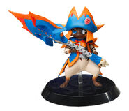 Capcom Figure Builder Palicoes Volume 3 Lagiacrus Cat