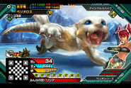 MHSP-Barioth Juvenile Monster Card 001