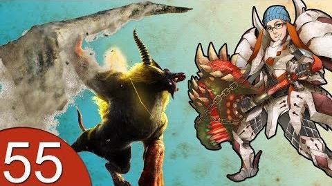 Monster Hunter 4 Nubcakes 55 - Golden Rajang English commentary online gameplay