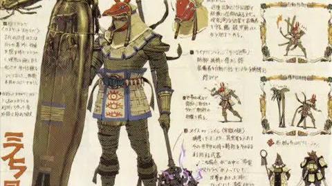 Monster Hunter armor concept art