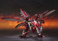 Chogokin-Monster Hunter G Class Henkei Rathalos 002