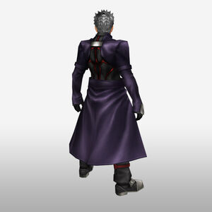FrontierGen-Akahara Reisou Armor 001 (Male) (Both) (Back) Render