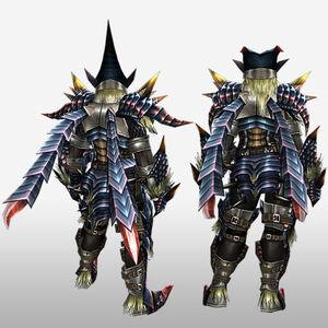 FrontierGen-Beru Armor (Blademaster) (Back) Render