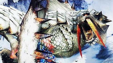 【MHF-G】遷悠種、氷牙竜『ベリオロス』討伐!【G級遷悠クエスト】フルHD