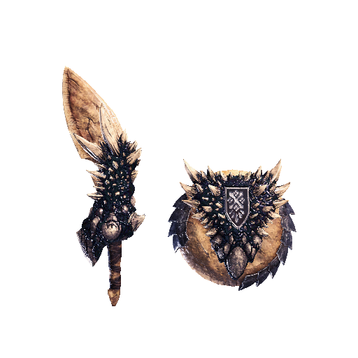 MHW-Sword and Shield Render 021