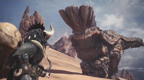 Monster Hunter World Barroth Boss Fight 4 (Solo Hammer)