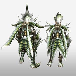 FrontierGen-Emitto Armor (Blademaster) (Back) Render