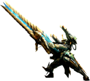 MH4U-Heavy Bowgun Equipment Render 001