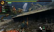 MH4U-Seregios and Brute Tigrex Screenshot 003