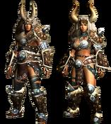 MHGU-Bulldrome Armor (Both) Render
