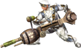 FrontierGen-Heavy Bowgun Equipment Render 002