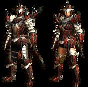MHGU-Rathalos Armor (Blademaster) Render
