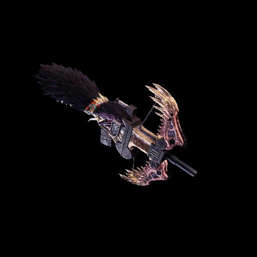 MHW-Light Bowgun Render 020