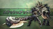 【MHWI】武器アクション紹介動画「スラッシュアックス」