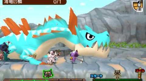 Monster Hunter Diary Team Felyne VS Lagiacrus!