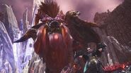 Monster Hunter World Arch-Tempered Teostra Boss Fight (Solo Dual Blades)