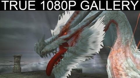 38 - The Ancestor 1080p White Fatalis ミラボレアス祖龍 - Monster Hunter Freedom Unite Gallery MHFU