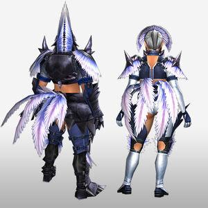 FrontierGen-Hypno S Armor (Blademaster) (Back) Render