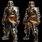 MHGU-Hunter's Armor (Blademaster) Render