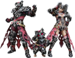 FrontierGen-Amista Armor (Both) Render 001
