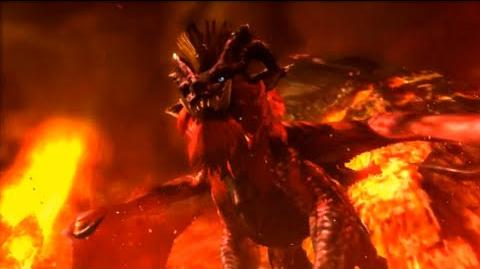 3DS Monster Hunter 4 Ultimate -Teostra Intro-