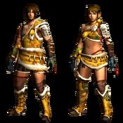 MHGU-Droth Armor (Both) Render