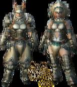 MH3U Barioth Armor Blade
