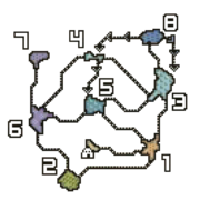 MH4U-Heaven's Mount Map