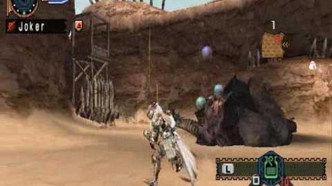 MHF2 - Team Fatalis' Joker In SnS Sleep-Bombing Rajang Gude