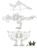 MHOL-沙雷鳥 Concept Artwork 004